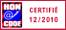 Certifie 12/2010